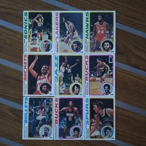 1978 Topps NBA 23 Card LOT